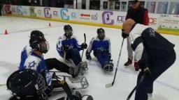 Para ice hockey training camp in Israel