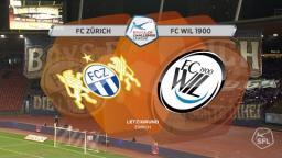 FC Zürich - FC Wil 2:0 - 17.Spieltag 03.12.2016