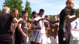 Olympique Lyonnais v. RSC Anderlecht, Match Highlights